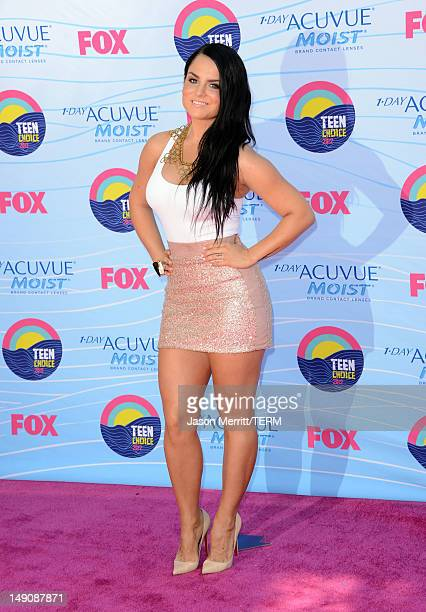 Singer JoJo arrives at the 2012 Teen Choice Awards at Gibson Amphitheatre on July 22 2012 in Universal City California