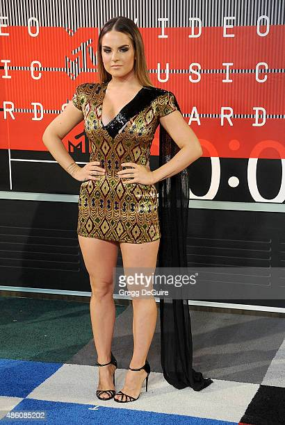 Singer JoJo arrives at the 2015 MTV Video Music Awards at Microsoft Theater on August 30 2015 in Los Angeles California