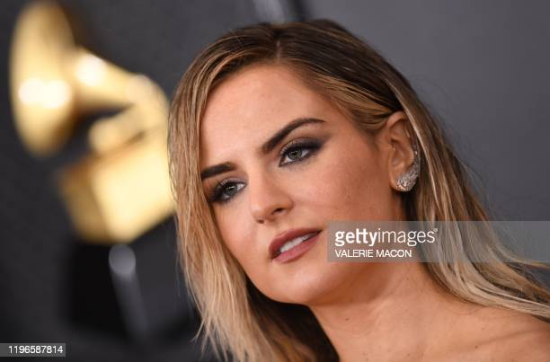 US singer JoJo arrives for the 62nd Annual Grammy Awards on January 26 in Los Angeles