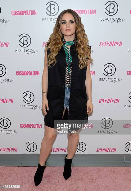Singer JoJo attends the 2nd Annual Beautycon New York City Festival at Pier 36 on October 17 2015 in New York City