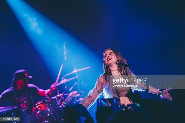 Singer JoJo performs at The Roxy Theatre on November 23 2015 in West Hollywood California
