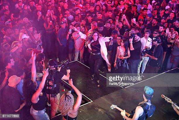 Singer JoJo performs onstage at MTV's 'Wonderland' LIVE Show on September 29 2016 in Los Angeles California
