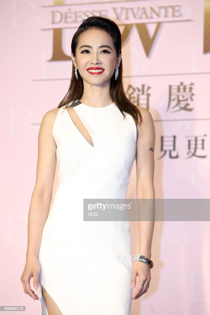 Jolin Tsai Attends Commercial Event In Taipei
