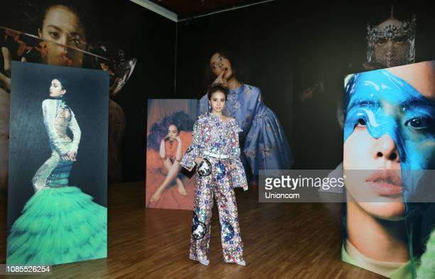 Singer Jolin Tsai promotes new album 'Ugly Beauty' on December 21 2018 in Taipei Taiwan of China