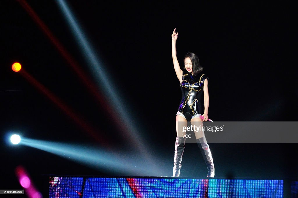 Jolin Tsai Holds Concert In Hefei : News Photo