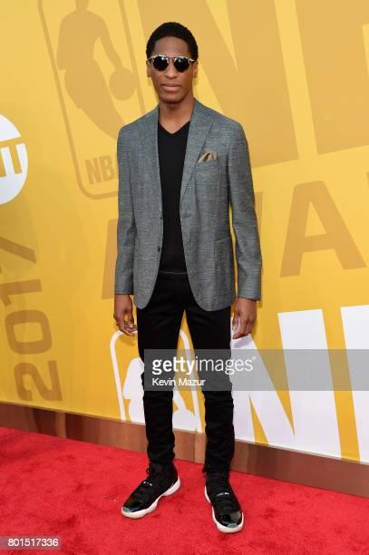 Singer Jon Batiste attends the 2017 NBA Awards Live on TNT on June 26, 2017 in New York, New York. 27111_002