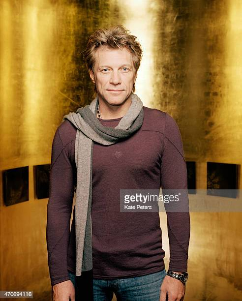 Singer Jon Bon Jovi is photographed for the Telegraph on February 7 2013 in London England