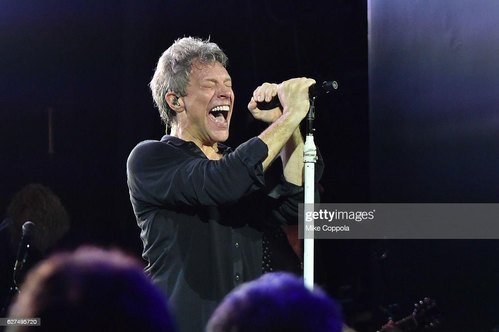 SiriusXM Presents Bon Jovi Live At The Faena Theater In Miami During Art Basel; Private Concert Airs Live On SiriusXM's Bon Jovi Radio : News Photo