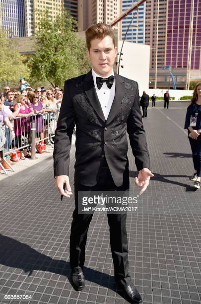 Singer Jon Pardi attends the 52nd Academy Of Country Music Awards at Toshiba Plaza on April 2 2017 in Las Vegas Nevada