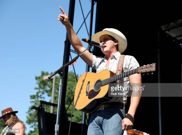 Singer Jon Pardi performs live during the 2017 Daytime Village at the iHeartCountry Festival A Music Experience by ATT at The Frank Erwin Center on...