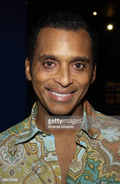 Singer Jon Secada arrives at the Golden Dads Awards ceremony at the Peterson Automotive Museum on June 15 2005 in Los Angeles California