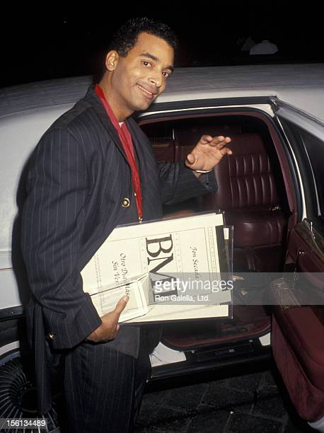 Singer Jon Secada attending 'BMI Latin Awards' on March 10 1994 at the Fountainblue Hotel in Miami Florida