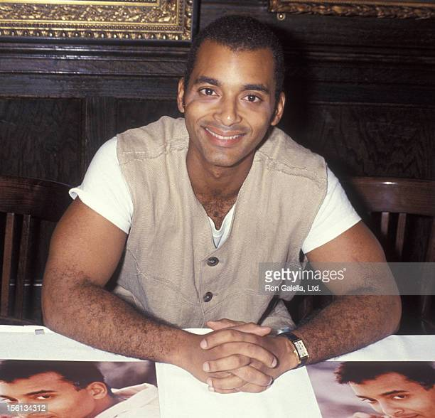 Singer Jon Secada attending 'Double Platinum Album Donation Gala' on December 1 1994 at the Hard Rock Cafe in Miami Florida