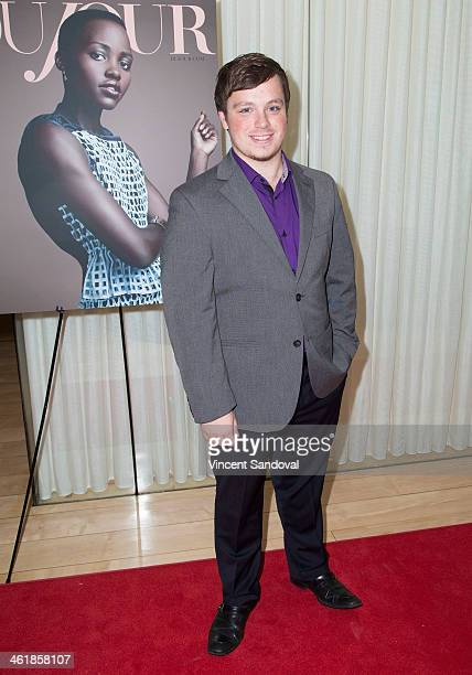Singer Jonathan Allen attends the DuJour Magazine celebrates great performances issue featuring 12 Years A Slave Golden Globe Nominee Lupita Nyong'o...