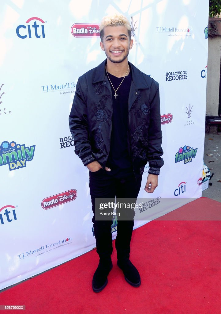 Singer Jordan Fisher attends T.J. Martell Foundation Family Day at The Grove on October 7, 2017 in Los Angeles, California.