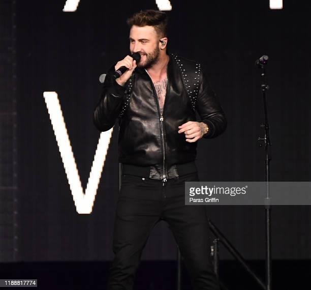 Singer Jordan McGraw performs onstage at Infinite Energy Arena on November 19 2019 in Duluth Georgia