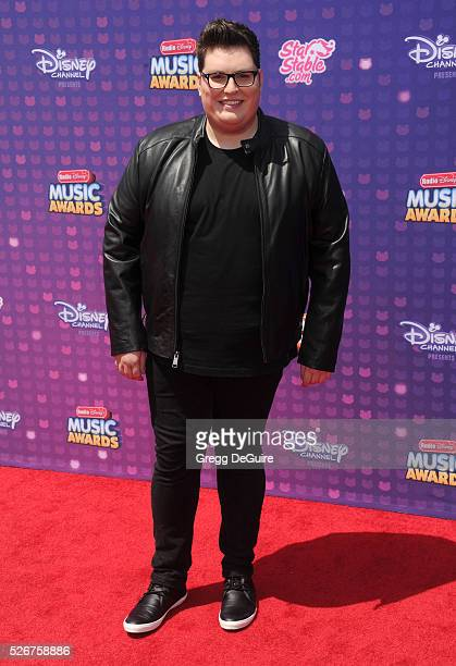 Singer Jordan Smith arrives at the 2016 Radio Disney Music Awards at Microsoft Theater on April 30 2016 in Los Angeles California