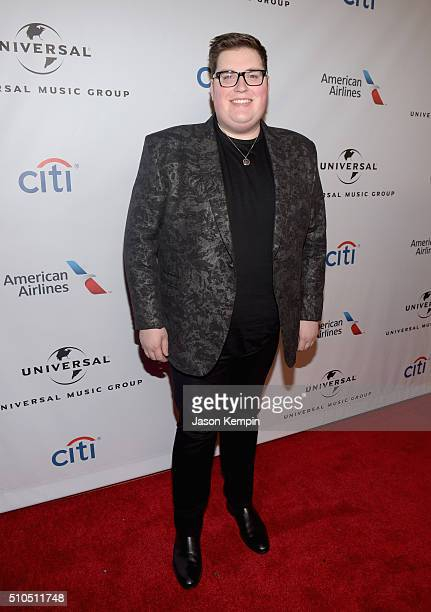 Singer Jordan Smith attends Universal Music Group 2016 Grammy After Party presented by American Airlines and Citi at The Theatre at Ace Hotel...
