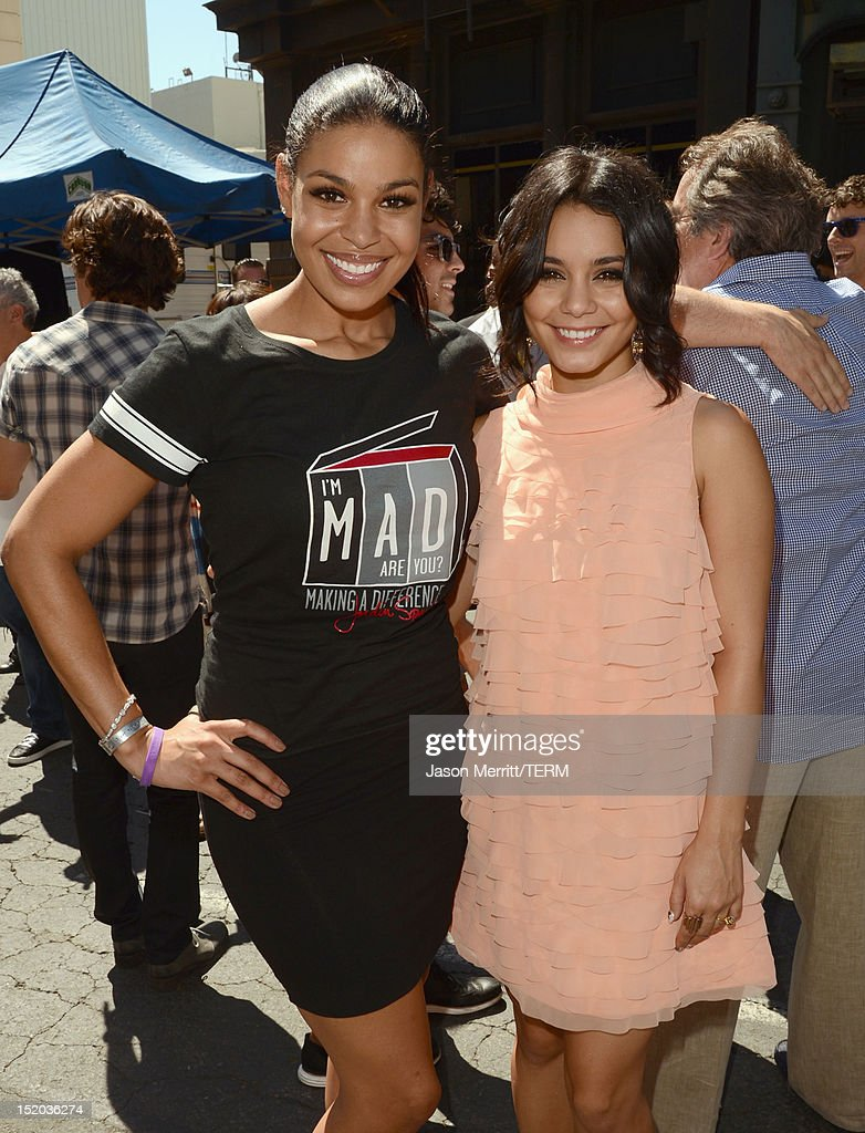 Singer Jordin Sparks and actress Vanessa Hudgens attend Variety's Power of Youth presented by Cartoon Network held at Paramount Studios on September 15, 2012 in Hollywood, California.