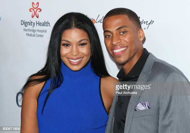 Singer Jordin Sparks and Dana Isaiah attend the 17th Annual Harold Carole Pump Foundation Gala at The Beverly Hilton Hotel on August 11 2017 in...