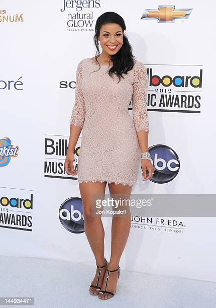 Singer Jordin Sparks arrives at the 2012 Billboard Music Awards held at the MGM Grand Garden Arena on May 20 2012 in Las Vegas Nevada