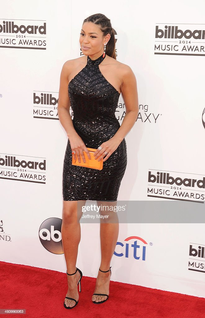 Singer Jordin Sparks arrives at the 2014 Billboard Music Awards at the MGM Grand Garden Arena on May 18, 2014 in Las Vegas, Nevada.