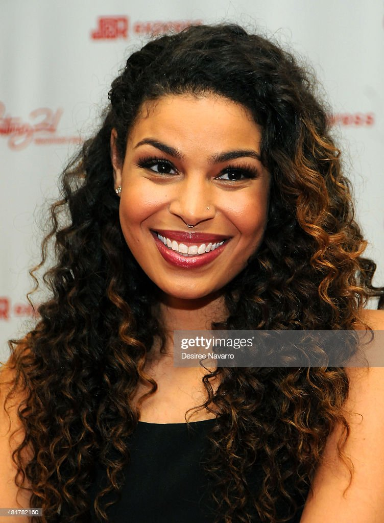 Singer Jordin Sparks attends Jordin Sparks 'Right Here Right Now' CD Signing at Century 21, Downtown on August 21, 2015 in New York City.