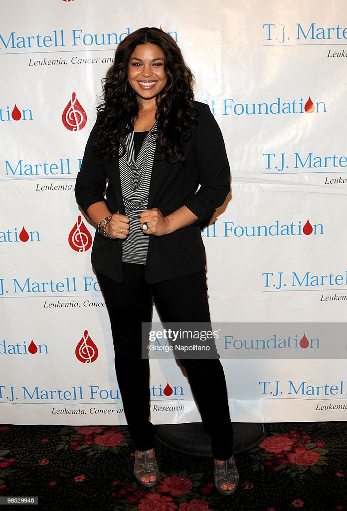 Singer Jordin Sparks attends the 11th Annual T.J. Martell Foundation Family Day benefit on April 18, 2010 in New York City.