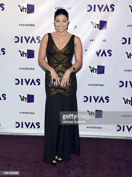 Singer Jordin Sparks attends VH1 Divas 2012 at The Shrine Auditorium on December 16 2012 in Los Angeles California