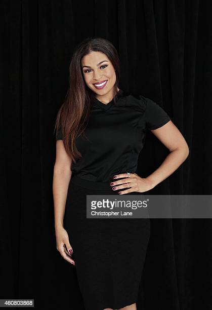 Singer Jordin Sparks is photographed at the NFL Inaugural Hall of Fashion Launch Event on September 17 2014 at Pillars 37 in New York City