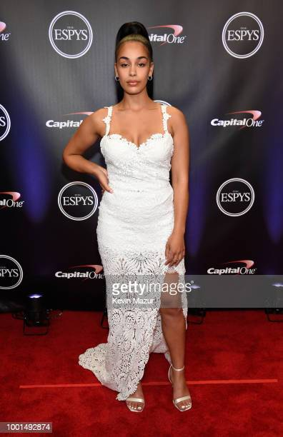 Singer Jorja Smith attends The 2018 ESPYS at Microsoft Theater on July 18 2018 in Los Angeles California