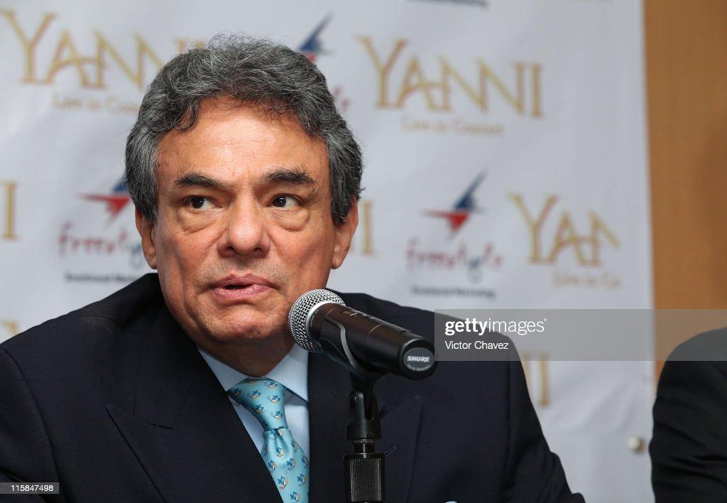 Yanni Press Conference