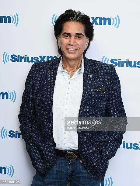 Singer Jose Luis Rodriguez visits the SiriusXM Studios on August 19 2015 in New York City