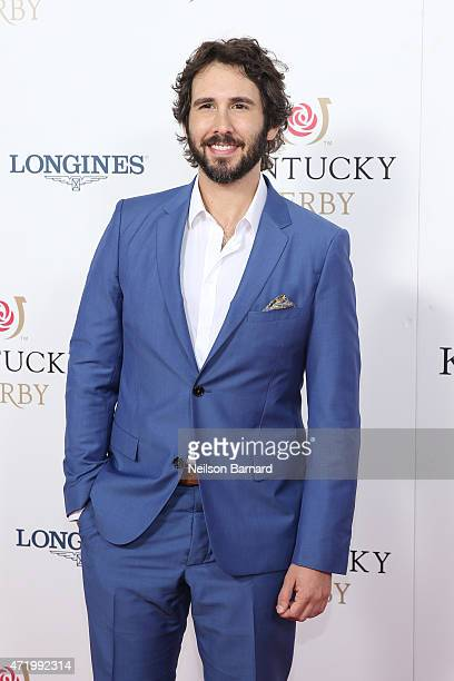 Singer Josh Groban attends the 141st Kentucky Derby at Churchill Downs on May 2 2015 in Louisville Kentucky