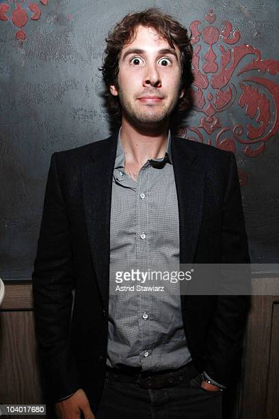 Singer Josh Groban attends the Charlotte Ronson Spring 2011 after party during MercedesBenz Fashion Week at Avenue on September 11 2010 in New York...
