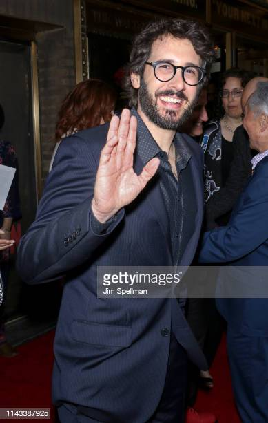 Singer Josh Groban attends the Hadestown opening night at Walter Kerr Theatre on April 17 2019 in New York City