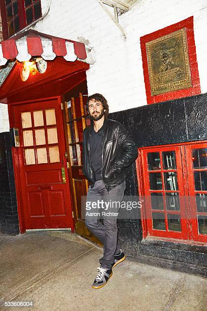Singer Josh Groban is photographed for Entertainment Weekly in 2015 at Marie's Crisis in New York City PUBLISHED IMAGE