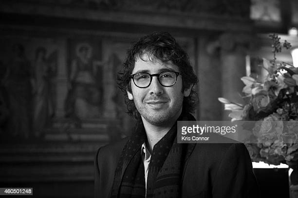 Singer Josh Groban poses for a portrait at the Library of Congress on November 18 2014 in Washington DC