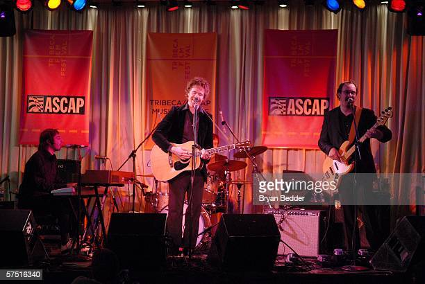 Singer Josh Ritter performs at the Tribeca/ASCAP Music Lounge at Canal Room during the 5th Annual Tribeca Film Festival May 2 2006 in New York City