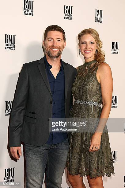 Singer Josh Turner and Jennifer Ford attend the 64th Annual BMI Country awards on November 1 2016 in Nashville Tennessee
