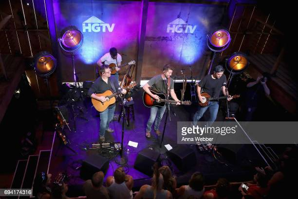 Singer Josh Turner performs onstage at the HGTV Lodge during CMA Music Fest on June 9 2017 in Nashville Tennessee