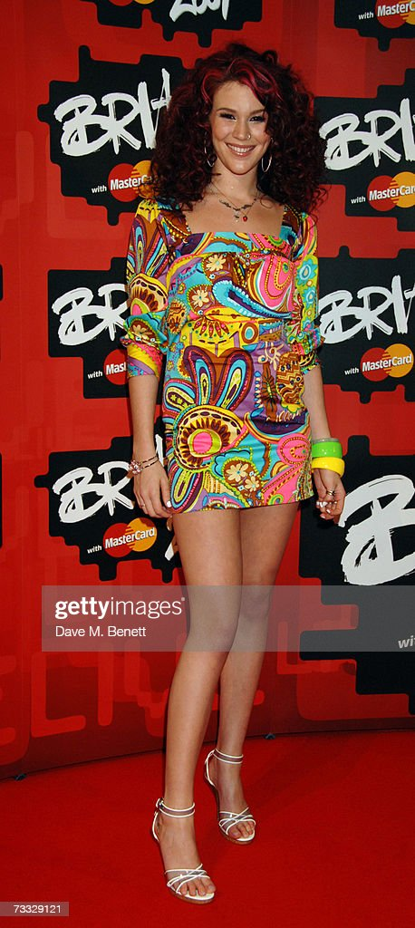 Singer Joss Stone arrives at the BRIT Awards 2007 in association with MasterCard, at Earls Court 1 on February 14, 2007 in London, England.
