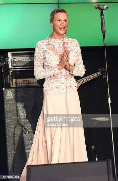 Singer Joss Stone performs during the 10th anniversary of 'Dreamball' at Ritz Carlton on September 10 2015 in Berlin Germany