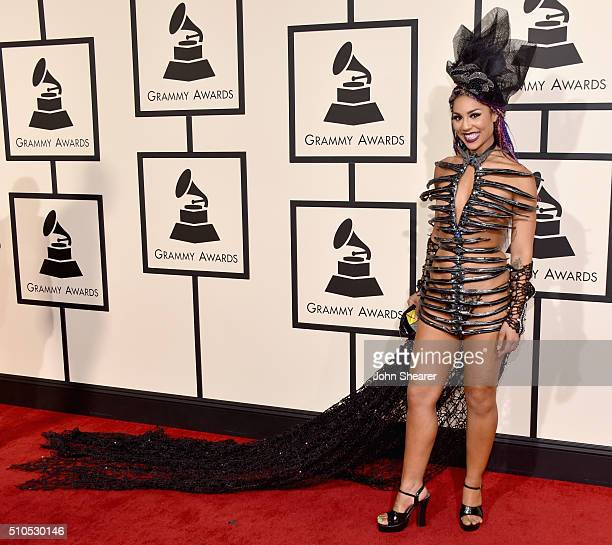 Singer Joy Villa attends The 58th GRAMMY Awards at Staples Center on February 15 2016 in Los Angeles California