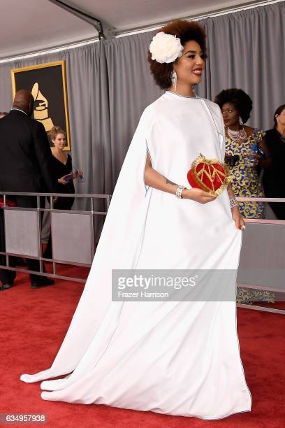 Singer Joy Villa attends The 59th GRAMMY Awards at STAPLES Center on February 12 2017 in Los Angeles California