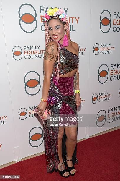 Singer Joy Villa attends the Family Equality Council Impact Awards on March 12 2016 in Beverly Hills California