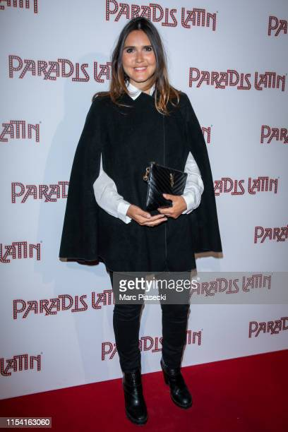 Singer Joyce Jonathan attends the L'Oiseau Paradis show at Le Paradis Latin on June 06, 2019 in Paris, France.