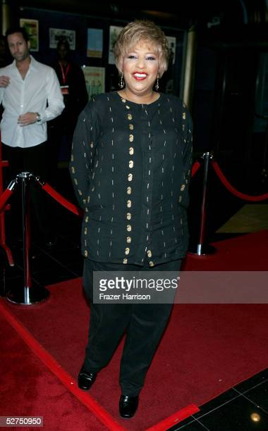 Singer Joyce Vincent Wilson arrives at the WeSPARKLE Variety Hour to benefit weSPARK Cancer Support Center held at The Henry Fonda Music Box Theatre...