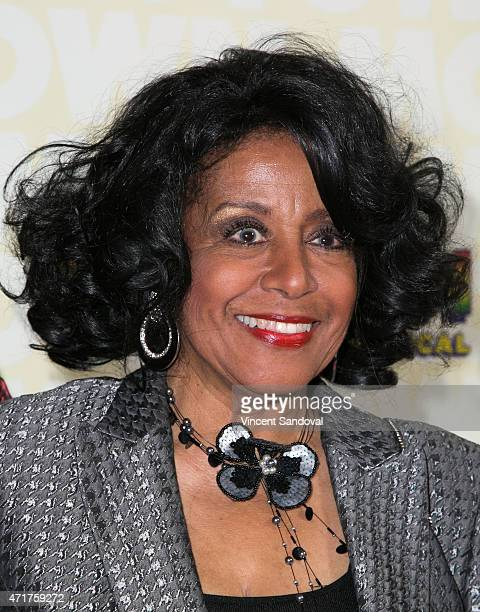 Singer Joyce Vincent Wilson attends the Los Angeles opening night of Mowtown The Musical at the Pantages Theatre on April 30 2015 in Hollywood...