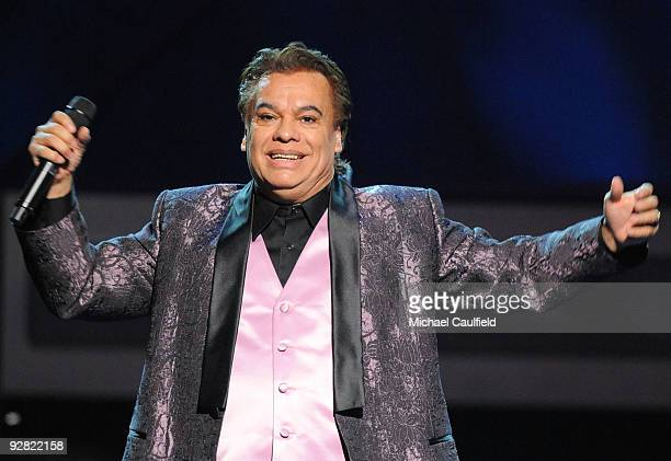 Singer Juan Gabriel performs onstage at the 10th Annual Latin GRAMMY Awards held at the Mandalay Bay Events Center on November 5 2009 in Las Vegas...